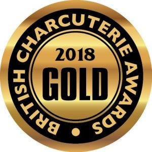 gold british charcuterie awards medal
